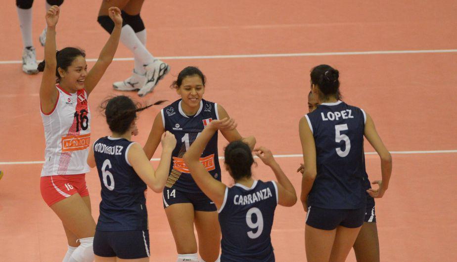 Ganaron por 3 a 1 (24-26, 25-20, 25-20 y 25-20) y demostraron lo que son capaces de dar frente a Puerto Rico.