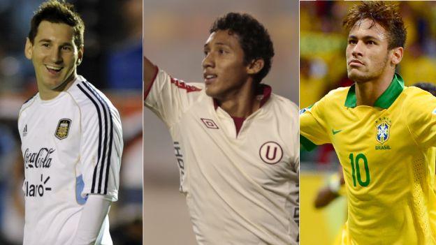 El 'Duelo de Gigantes' será el 2 de julio en el Estadio Nacional. (AFP/Leo Fernández)