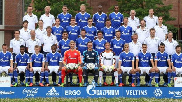 Jefferson Farfán le anotó los dos goles a Venezuela en la victoria por 2-1 en el Nacional.  (Facebook de Schalke)