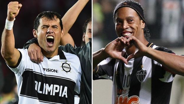 El equipo de Ronaldinho es el candidato para salir campeón. (Agencias)