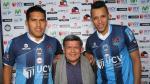 Andy Pando y Jesús Rabanal fueron presentados en César Vallejo (VIDEO)