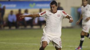 Olascuaga debut en 2008 jugando por Alianza Lima. (Erick Nazario)