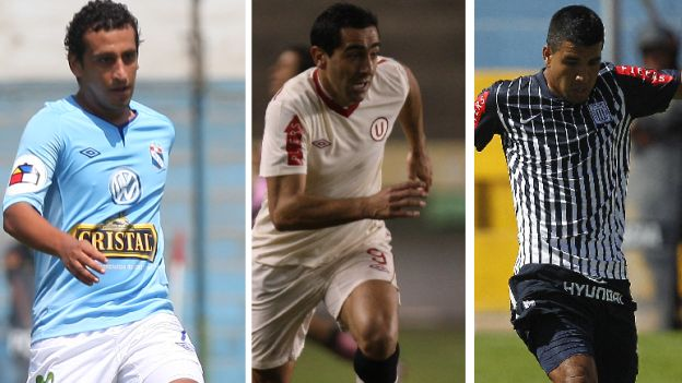 Universitario, Alianza Lima, Sporting Cristal, Descentralizado, Copa Movistar 2012