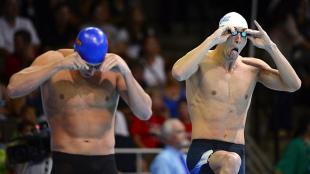 Michael Phelps qued cuarto en la competencia. (AP)