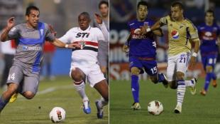 Sao Paulo-Universidad de Chile se enfrentarn el mircoles. Mientras que Tigre y Millonarios lo harn el jueves. (Reuters - AP)