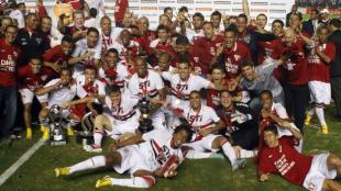 Sao Paulo est en la Libertadores por haber ganado la Sudamericana. (Reuters)