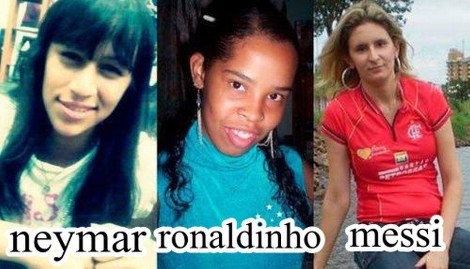 Ronaldinho, Ronaldo, Lionel Messi, Cristiano Ronaldo