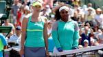 Williams y Sharapova brindaron una tarde llena de emociones. (Fotos: Agencias)
