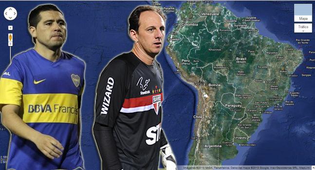 Los mejores equipos de Sudamérica