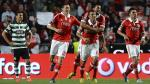 Benfica y Porto se llevan 4 puntos de diferencia a falta de cuatro fechas. (AFP)