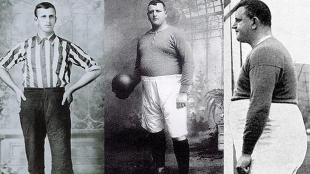 William Henry Foulke lleg&oacute; a pesar 165 kilos. (YouTube)