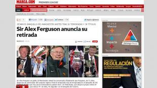 El t&eacute;cnico del Manchester United, Alex Ferguson, se retirar&aacute; al final de esta temporada despu&eacute;s de casi 27 a&ntilde;os.