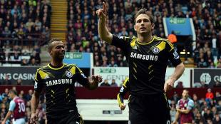 El ingls Frank Lampard fue al figura del partido. (AFP) 