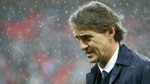 Roberto Mancini gan la Premier League en la temporada pasada. (Reuters)