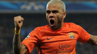 Dani Alves lleg&oacute; en 2007 al Barcelona procedente del Sevilla. (AP)