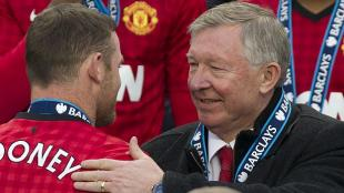 Ferguson aconsej a Rooney. Lo habr escuchado? (AP)