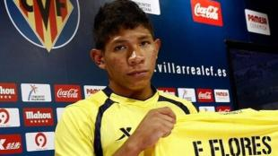 Flores ha marcado 3 goles con el Villarreal B. (Villarreal)