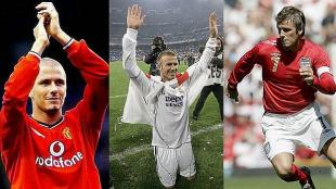 David Beckham es el nico jugador de Inglaterra que marc goles en 3 Mundiales. (YouTube)