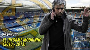 Mourinho lleg al Real Madrid en la temporada 2010/11