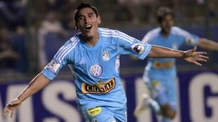 vila consigui 4 goles en la Copa Libertadores 2013 con Cristal. (Reuters)