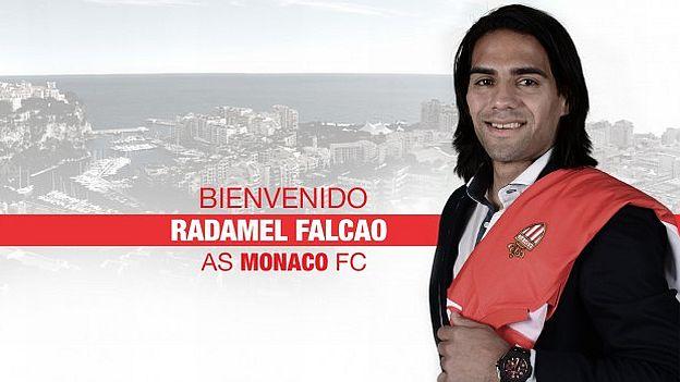Mónaco anunció la contratación de Radamel Falcao