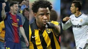 Wilfried Bony anot 31 goles con el Vitesse de Holanda. 