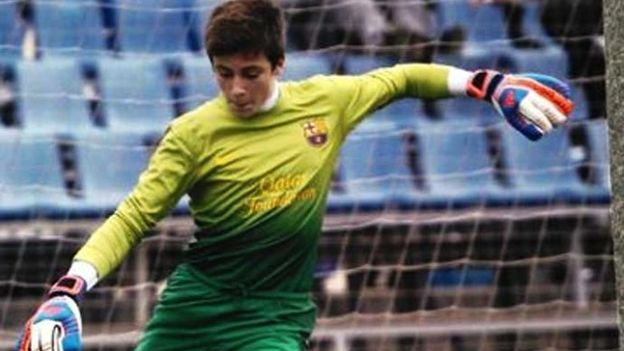 Barcelonas youth goalie saves six penalties & scores winner v Atletico Madrid